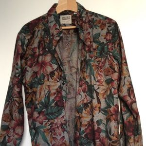 Naked and Famous Floral Shirt